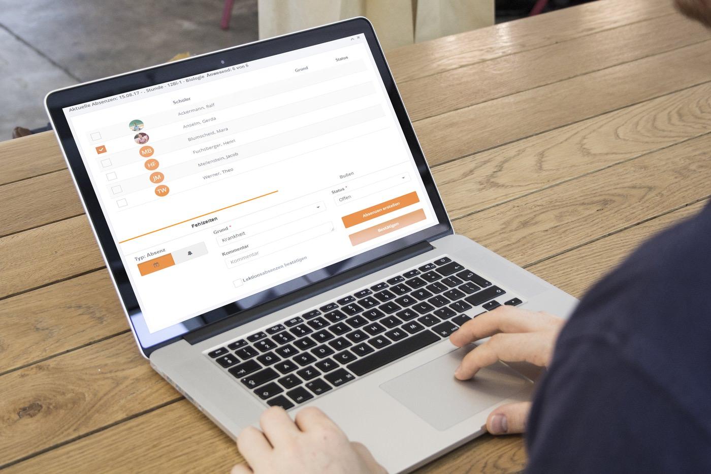 Software für das Fehlzeiten-Management an Schulen